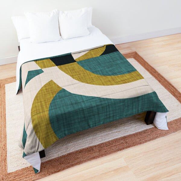New Mid Mod Freeway Olive #mid-century Comforter