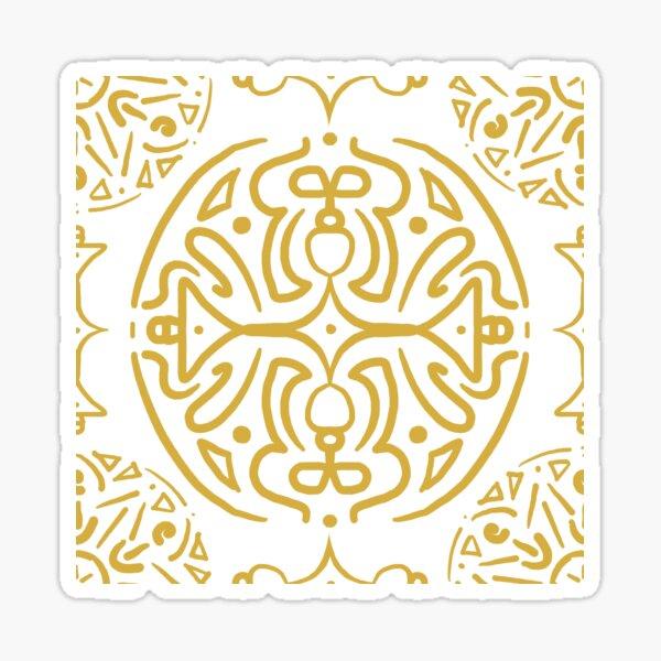 Nordic Gold Sticker