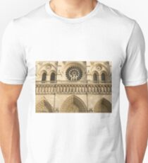 Notre Dame de Paris - 4 - The Three Portals ©  Unisex T-Shirt