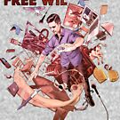 Wil Anderson - Free Wil (T-Shirt) by James Fosdike