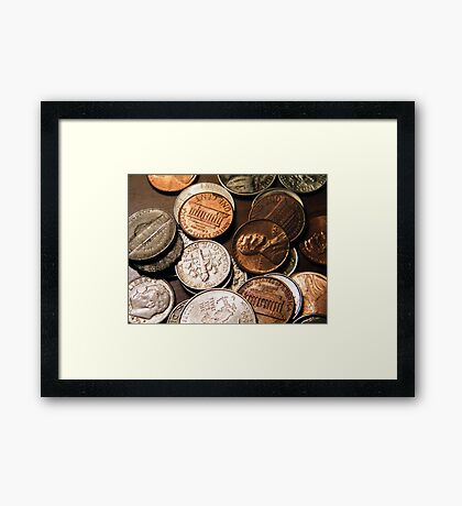 All That's Left After a Trip to the Gas Pump!!! Framed Print