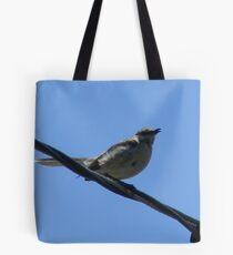 Mockingbird Fledgling Sang Too! Tote Bag
