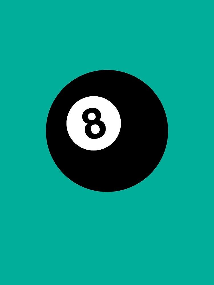 Billiard 8 Ball by Thoth-Adan