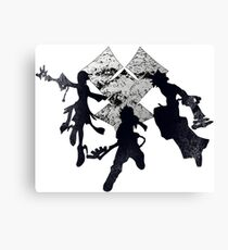 Keyblade War Canvas Print