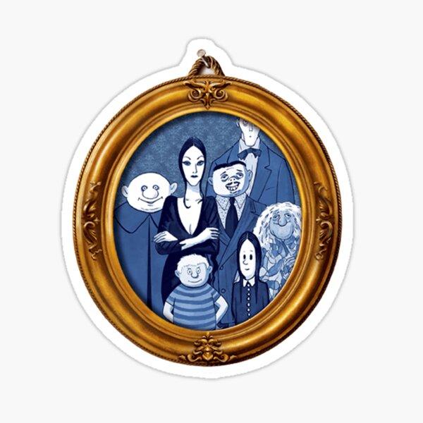 The Addams Family Broadway Logo Sticker