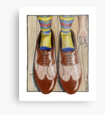 Daddy's Shoes Metal Print