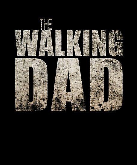 THE WALKING DEAD POSTER gift husband TV WALL ART