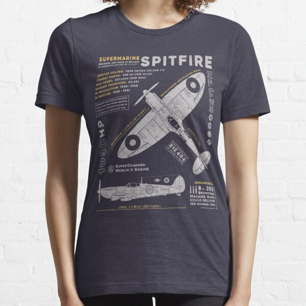 Supermarine Spitfire Essential T-Shirt