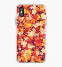 Scarlet Leaves  iPhone Case