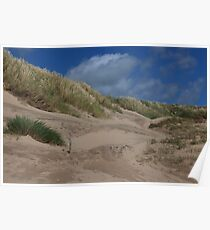 Camber Sands, nr Rye in East Sussex, UK Poster