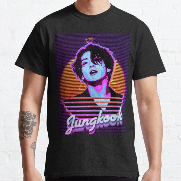 Jungkook Retro Camiseta clásica