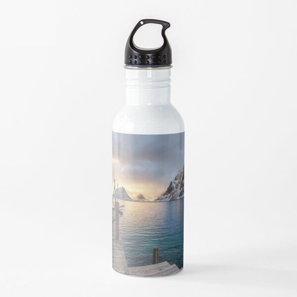 Spring Sunset Water Bottle