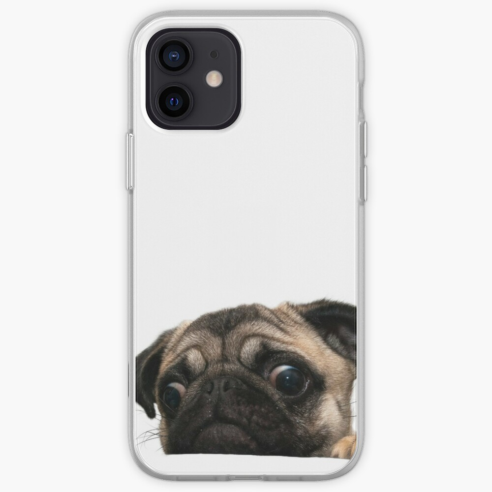 Worried Pug iPhone Case & Cover