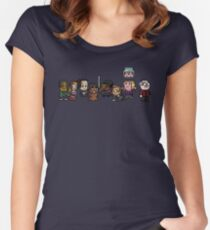 8-Bit Community Women's Fitted Scoop T-Shirt