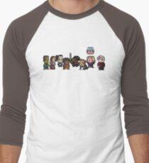 8-Bit Community Men's Baseball ¾ T-Shirt