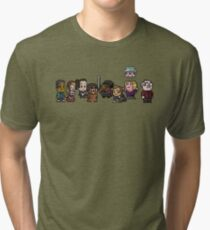 8-Bit Community Tri-blend T-Shirt