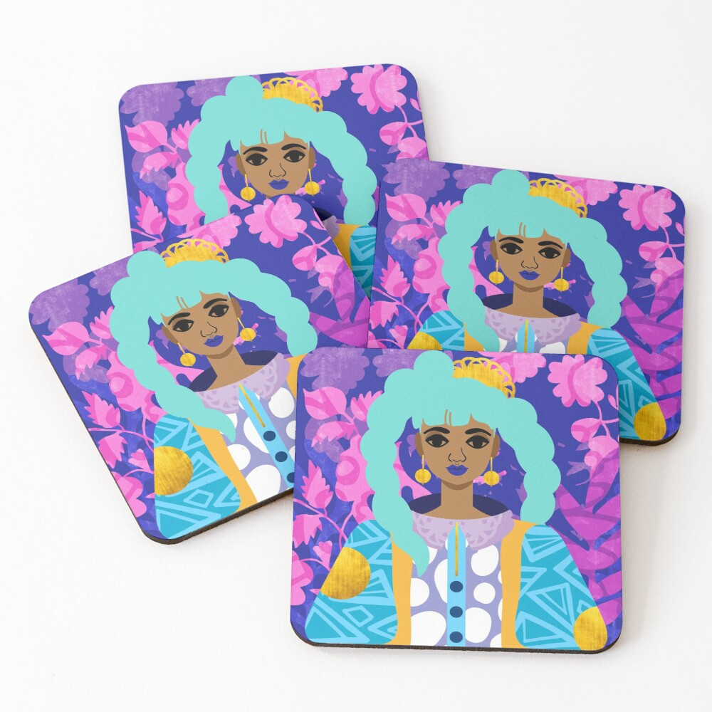Outer Space Coasters (Set of 4)