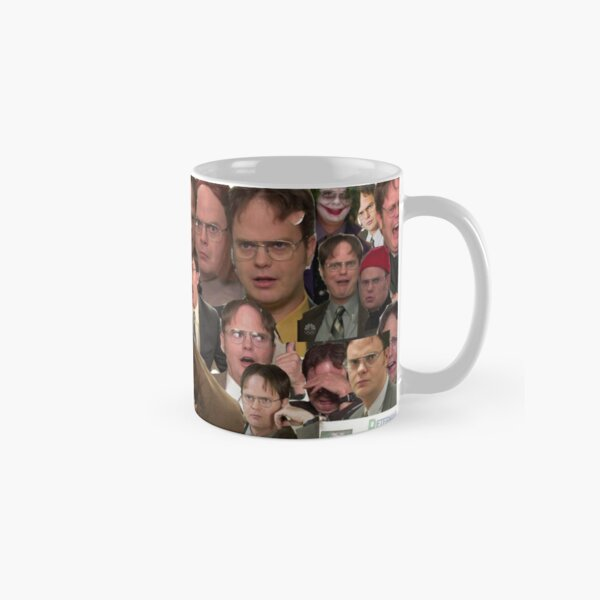 Dwight Schrute Collage  Classic Mug