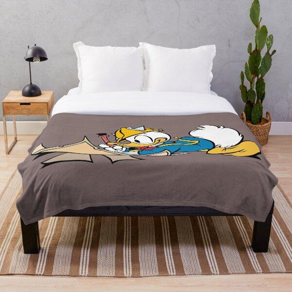 Donald Duck Throw Blanket