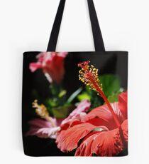 Multicolored Hibiscus Tote Bag