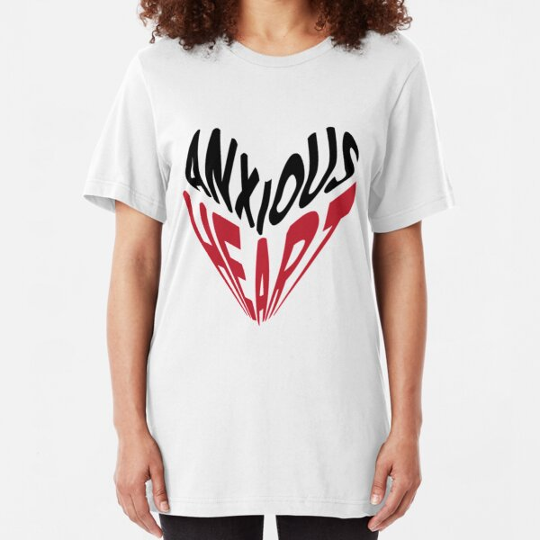 Anxious Heart  Slim Fit T-Shirt