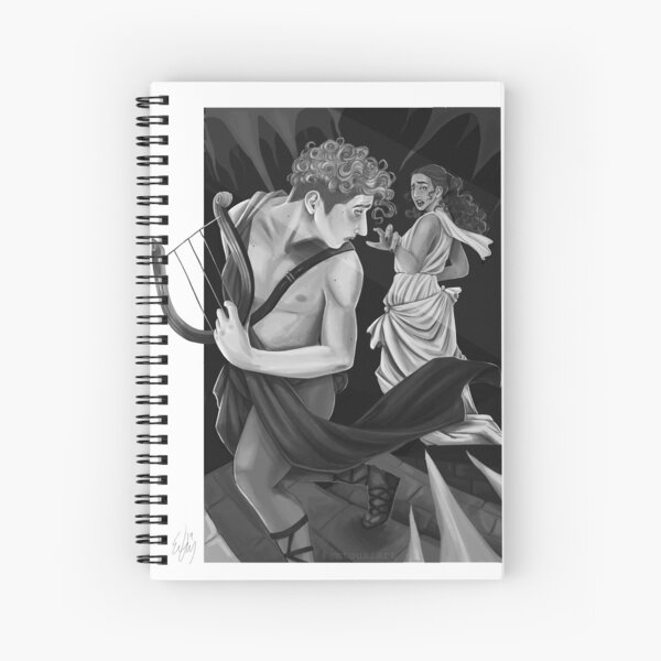 Orpheus and Eurydice Spiral Notebook