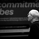 Candid old man by kaledyson