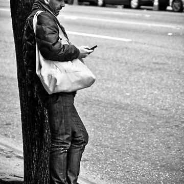 Street Texting by babysteve