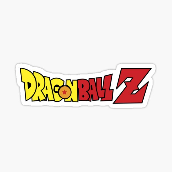 Logo DragonBall Z Sticker