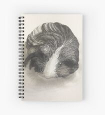 Cute Guinea Pig Painting  Spiral Notebook