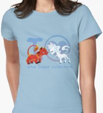 I heart The Last Unicorn Womens Fitted T-Shirt