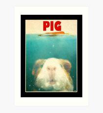 Little Sea Pig Art Print