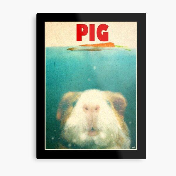 Little Sea Pig Metal Print