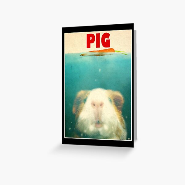 Little Sea Pig Greeting Card
