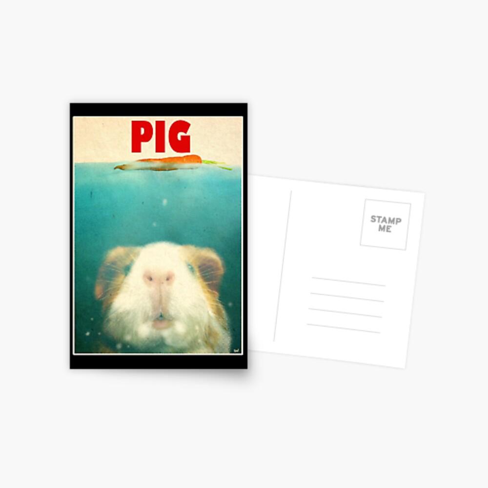 Little Sea Pig Postkarte