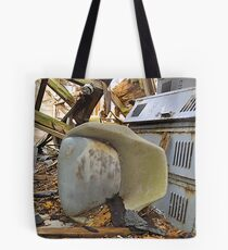 The Roof Will Protect Us from the Rain Tote Bag