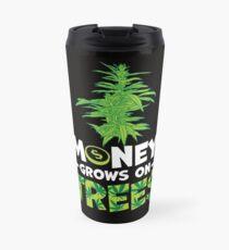 Savvy Turtle Money Grows On Trees Travel Mug