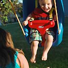 First Birthday, First Swing! by Eric LeClair