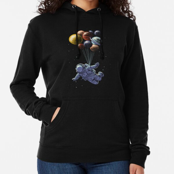 Space Travel Lightweight Hoodie