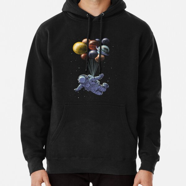 Space Travel Pullover Hoodie