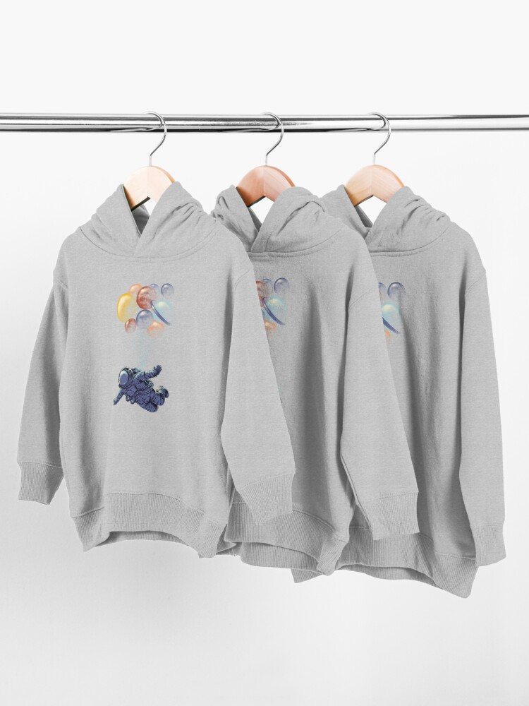 Alternate view of Space Travel Toddler Pullover Hoodie