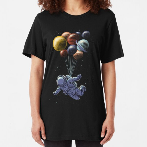 Space Travel Slim Fit T-Shirt