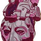 Lord Pakal Bust by Robert Seebach
