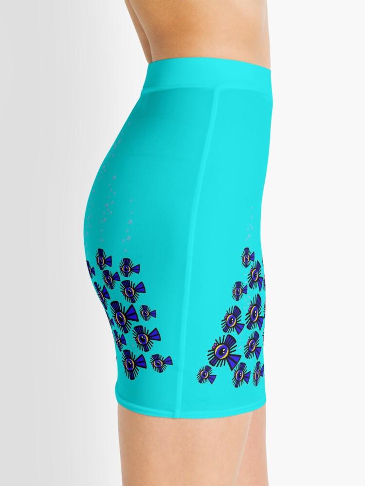 Alternate view of CORAL Mini Pencil Skirt Mini Skirt