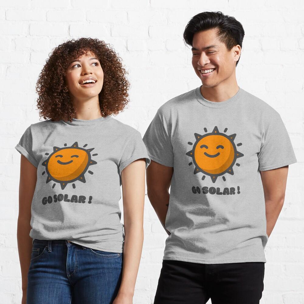 Go Solar  Classic T-Shirt