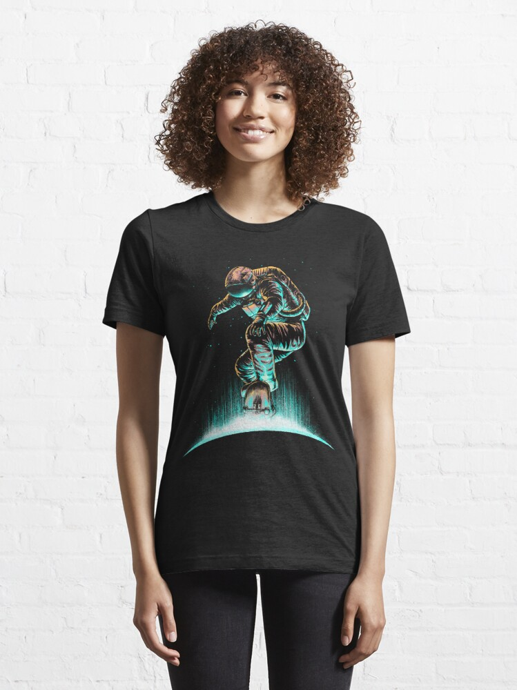 Alternate view of Space Grind Essential T-Shirt