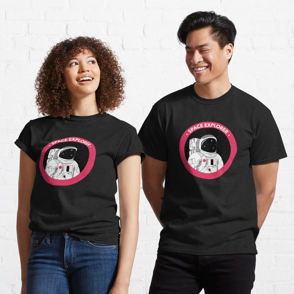 Space Explorer  Classic T-Shirt