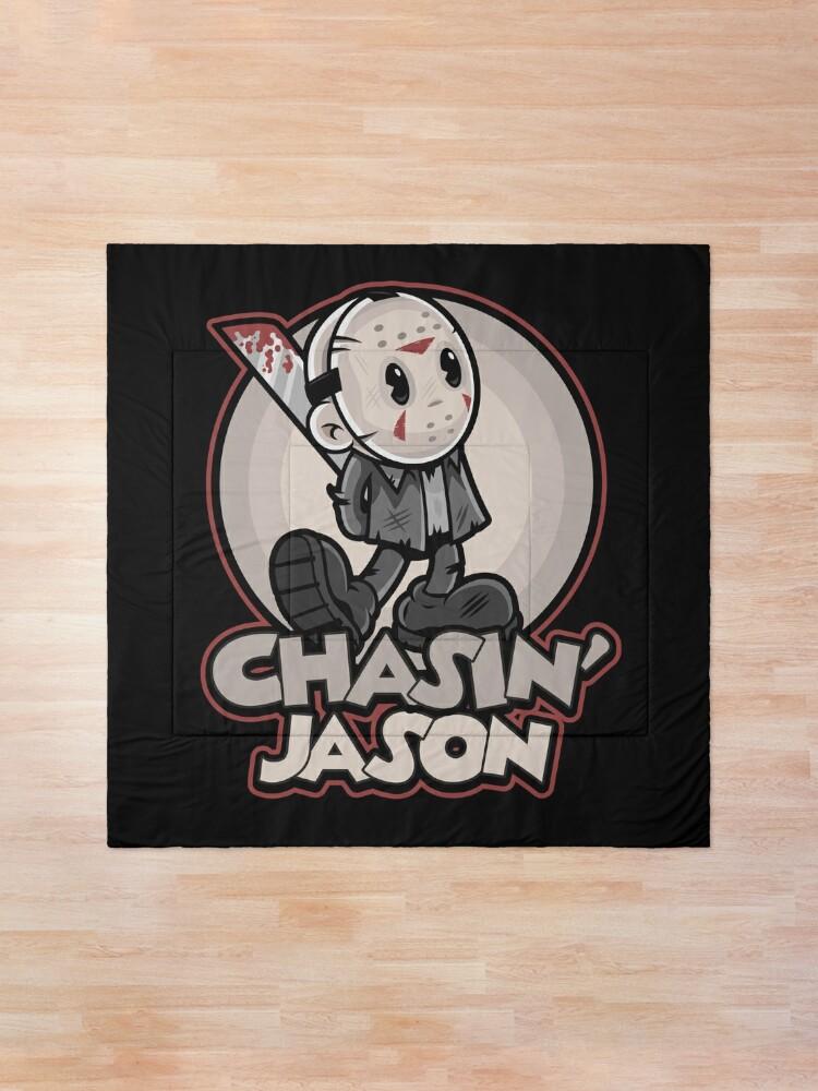 Alternate view of Chasin' Jason Comforter