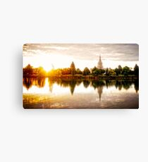 Idaho Falls Temple - Sunrise Canvas Print