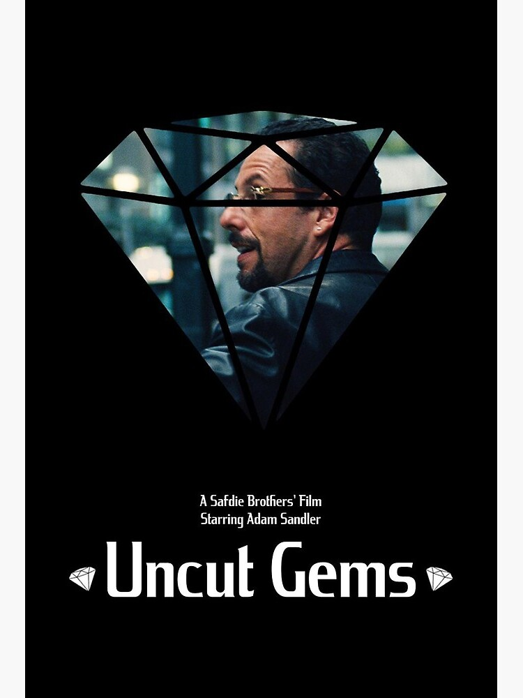 "Uncut Gems Poster"" Art Board Print by anitasands 